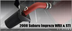 Subaru Impreza 2008 up 2.5Litre AEM Cold Air Intake