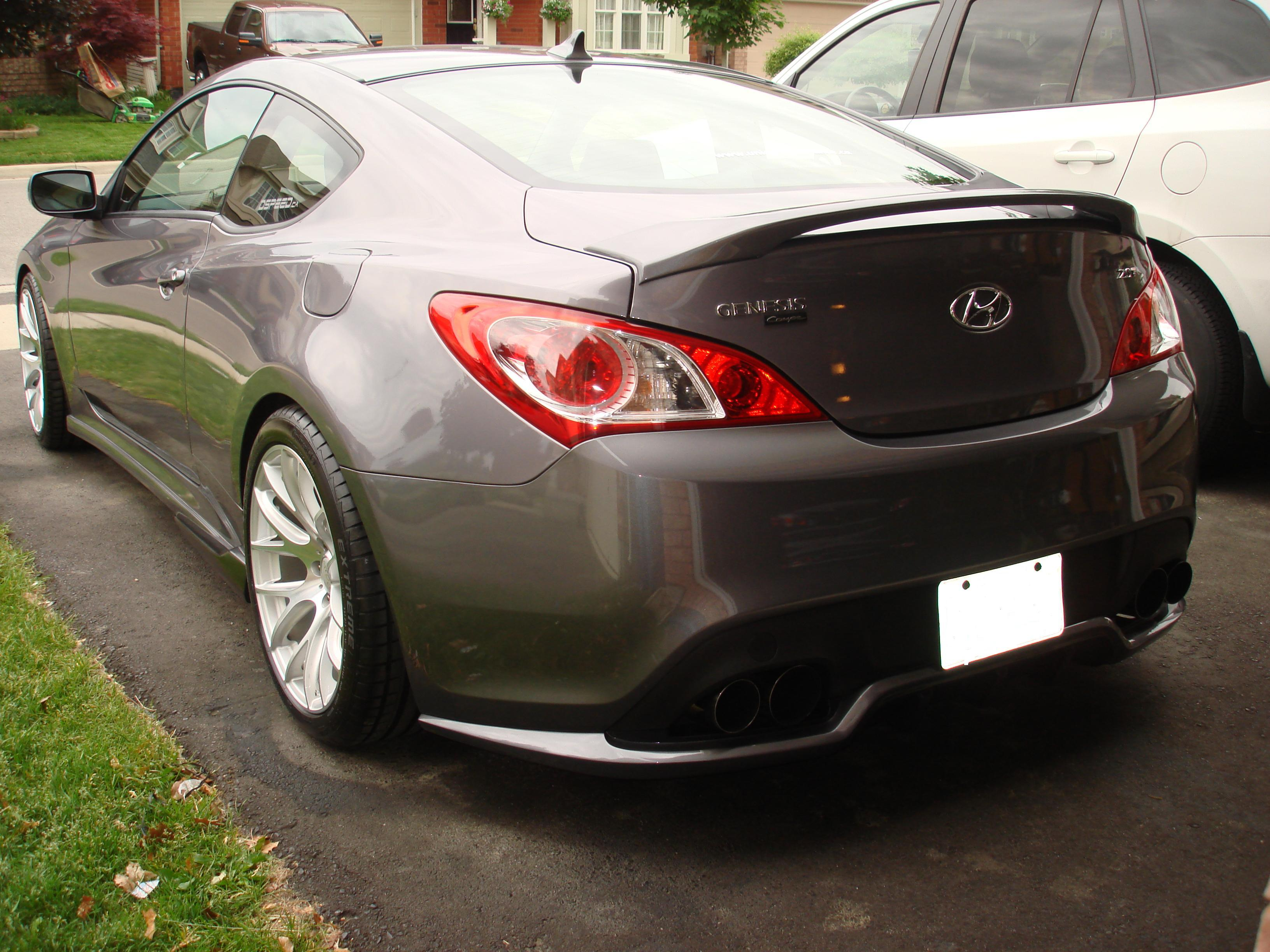 "2010-2013 Genesis Coupe IXION  ""STYLE""Rear Diffusor(Polyurathane)"