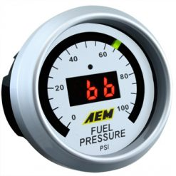 AEM Fuel Pressure Gauge 0 to 100 psi  PART#30-4401