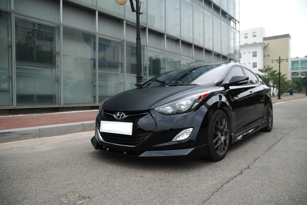2012 Hyundai Elantra Lip Kit From NefDesign
