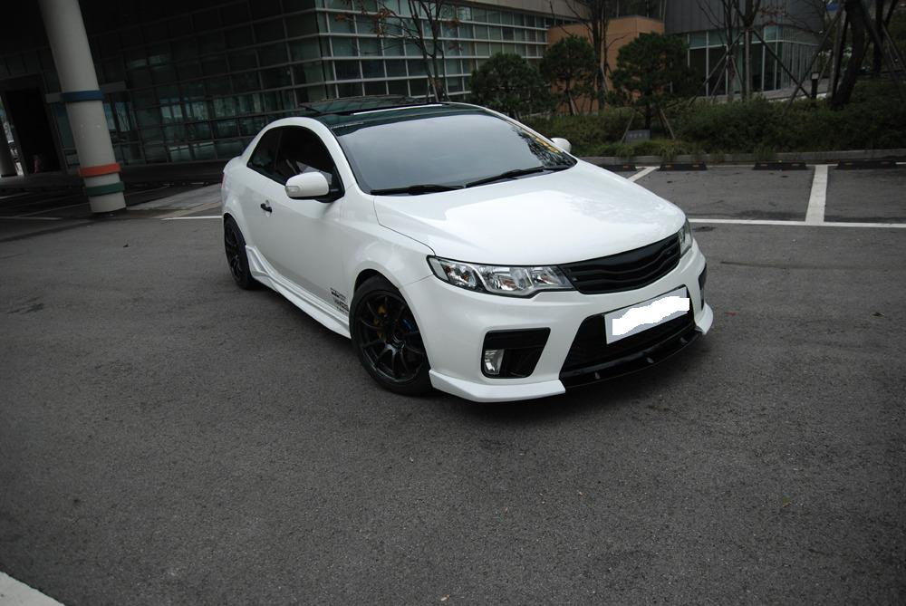 2010 Kia Forte Coupe LIP KIT from NefDesign  !!!NEW PRODUCT!!!