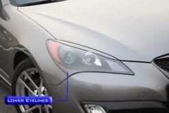 M&S Carart Lower Eyelines - 2010 Genesis Coupe