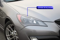 M&S Carart Upper Eyelines - 2010 Genesis Coupe