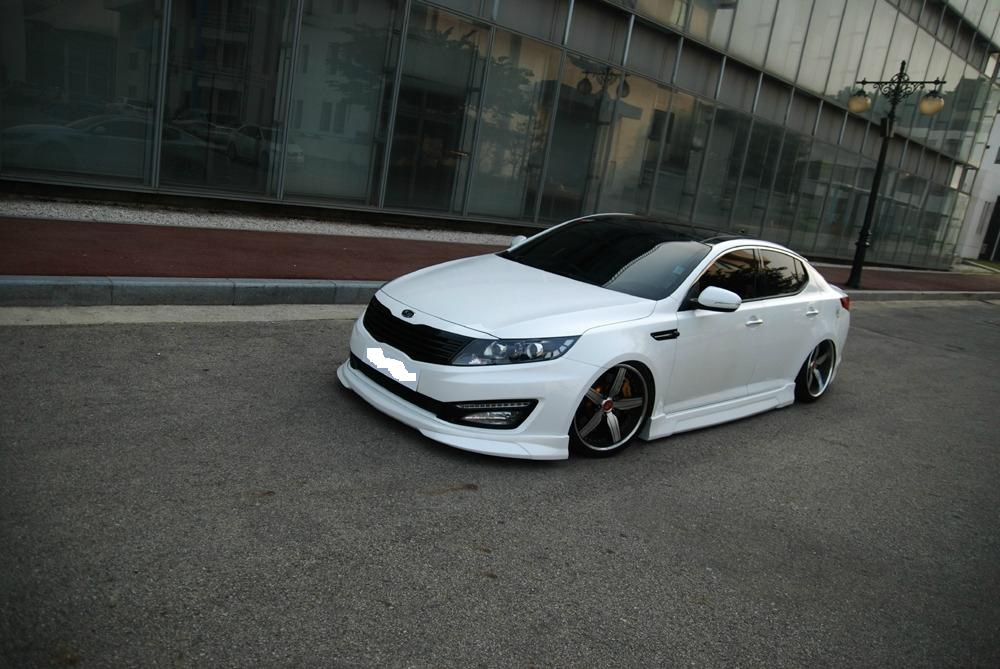 2012 KIA OPTIMA SX  LIP KIT from NefDesign (SX MODEL ONLY) !!NEW PRODUCT!!!