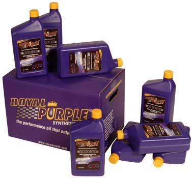 Royal Purple Synthetic Oil    Case of 12