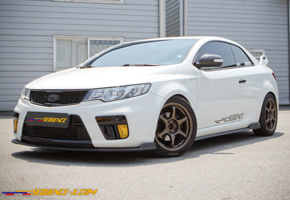 Sequence Lip Kit for KIA Forte COUPE ONLY!!!! SPEC2