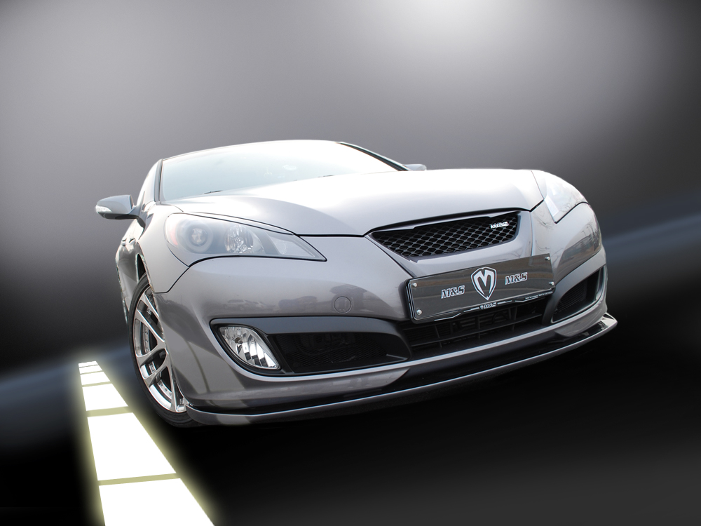 2010+ Hyundai Genesis Coupe M&S Carart Front Lip!!!