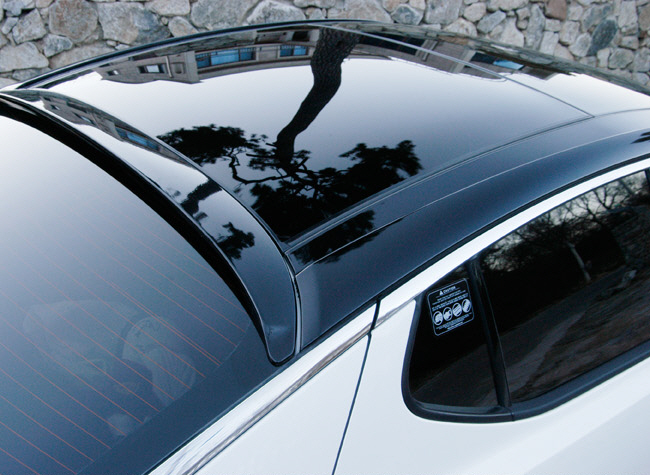 2011 KIA OPTIMA Morrisclub Rear window spoiler