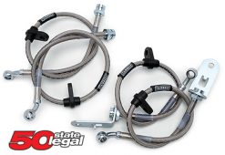 2003-2006 G35 Coupe and Sedan RUSSELL STAINLESS STEEL BRAKE LINES KIT (with Brembo brakes)