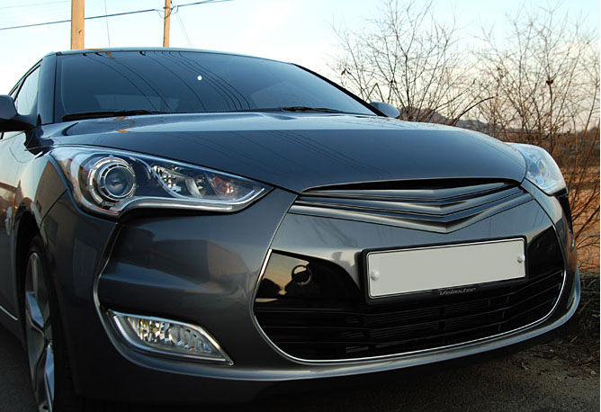 2012 Hyundai Veloster ArtX Veloster Front Grille Replacement
