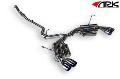 11-ON Subaru WRX STi Sedan(ONLY) ARK GRiP Exhaust System - Burnt Tip