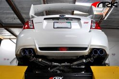 11-ON Subaru WRX STi Sedan(ONLY) ARK GRiP Exhaust System - Burnt Tip