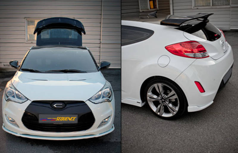 Hyundai Veloster Sequence Spec GT-Spoiler