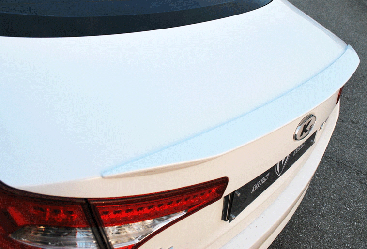 2010+ Kia Optima M&S Rear Trunk Spoiler