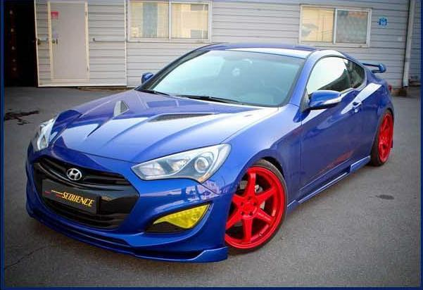 2013 Hyundai Genesis Coupe Sequence Body Kit