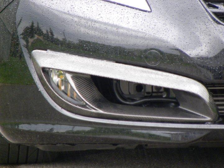VIS Carbon Fiber Fog Bezels for Genesis Coupe