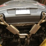 2010+ CP-E Catback Genesis Coupe 2T system - 3 inch
