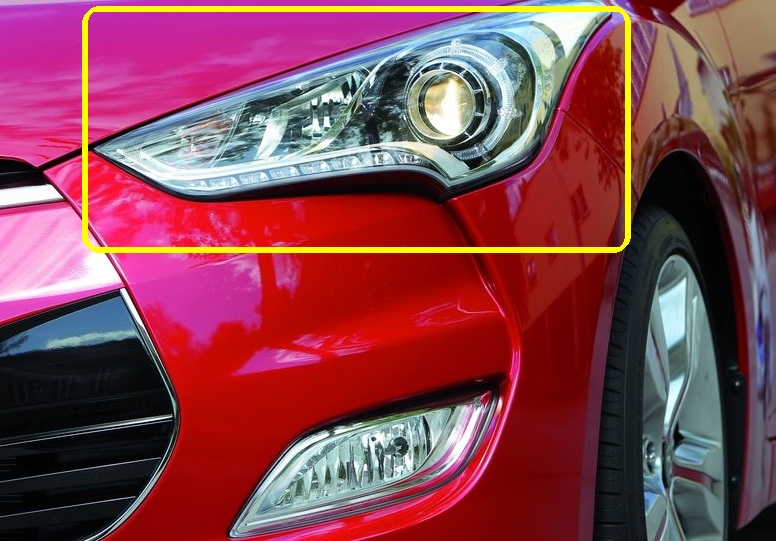 2013 Hyundai Velsoter TURBO LED Headlights