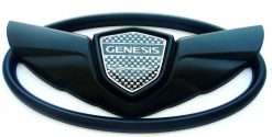 Genesis Coupe Wing badge emblems Grille+Trunk .....