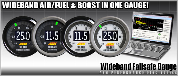"AEM Wideband Failsafe Gauge  ""NEW PRODUCT"""