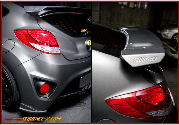2012+ Hyundai Veloster TURBO Sequence DEVIL SPOILER!!