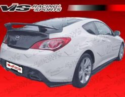 2010-2013 Hyundai Genesis Coupe VIS Pro Line Carbon Fiber Rear Lip