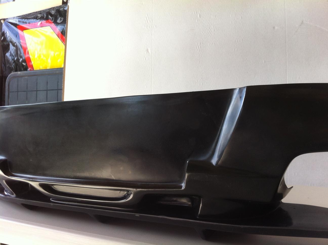 "2010-2013 Genesis Coupe CUPER ""STYLE"" Rear Bumper Lip (Polyurathane)"