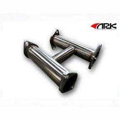 2013 Hyundai Genesis 3.8L ARK Down with TEST PIPE Flow Pipe  2.5 inch