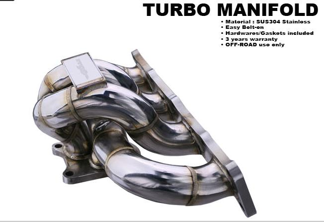 2010-2012 Genesis Coupe MXP TURBO MANIFOLD