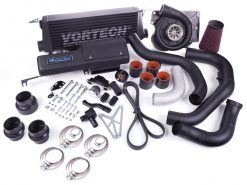 2013 FR-S/BRZ Tuner Kit with V-3 H67BC VORTECH Supercharger and Air/Air Charge Cooler, Black Finish.
