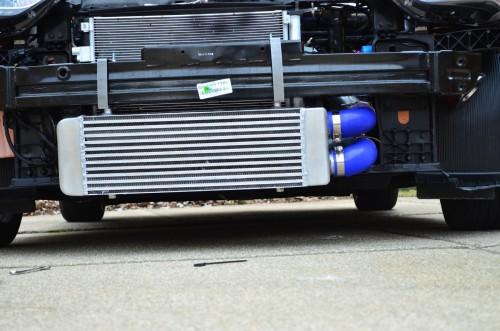 "veloster turbo big front mount intercooler kit by ""turbosocks"" hyundai veloster wiring harness hyundai veloster turbo intercooler"