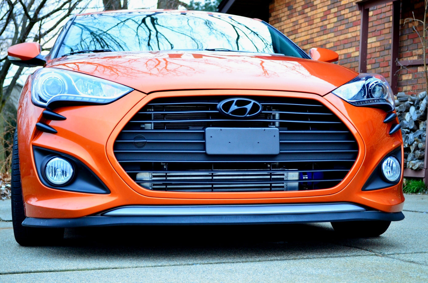 "Veloster Turbo Big Front Mount Intercooler Kit  by ""TURBOSOCKS"""
