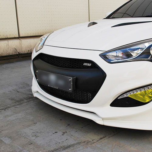 Genesis Coupe 2013+ M&S Matt Black Front Radiator Grill