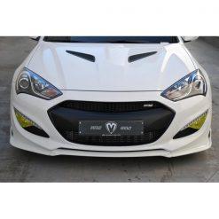 Genesis Coupe 2013+ M&S Front Lip Spoiler a