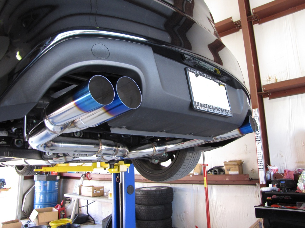 Isr Race Exhaust For Genesis 2 0t 2010