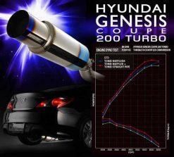 Tomei EXPREME Ti TITANIUM MUFFLER for HYUNDAI GENESIS COUPE 200 TURBO
