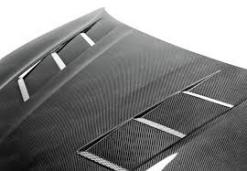 2013+ Hyundai Genesis 2DR TS-Style Carbon Fiber Hood