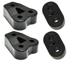 Torque Solution Exhaust Mount Kit: Hyundai Genesis Coupe 3.8 2010-2012