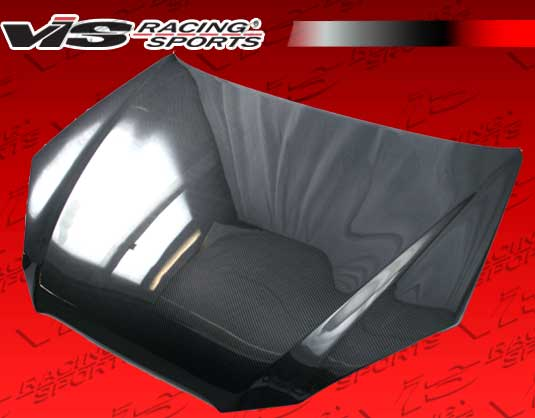 2010-2012 Hyundai Genesis Coupe VIS OEM Style Carbon Fiber Hood