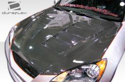 2010-2012 Hyundai Genesis 2DR Duraflex Circuit Hood - 1 Piece Fiberglass