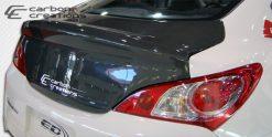2010-2016 Hyundai Genesis 2DR Carbon Creations OEM Trunk - 1 Piece