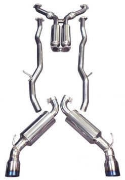 """Injen 2013-2014 Ford Focus ST 2.0L (t) 3.00"""" Cat-Back Stainless Steel Exhaust System w/Titanium Tip"""
