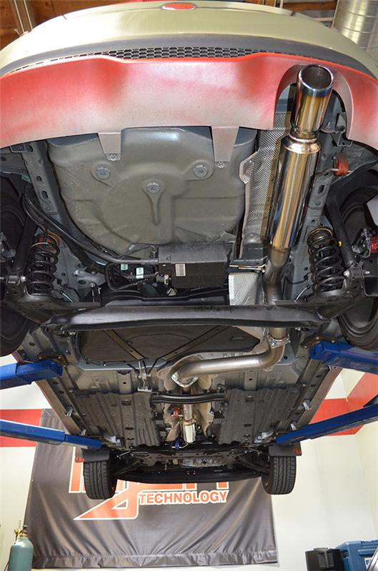 """Injen 2014-2015 Ford Fiesta ST 1.6L Turbo 4Cyl 3"""" Cat-Back Stainless"""