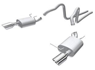 Borla 2011-2014 Ford Mustang 3.7L 6cyl 6spd RWD SS S-Type Catback Exhaust