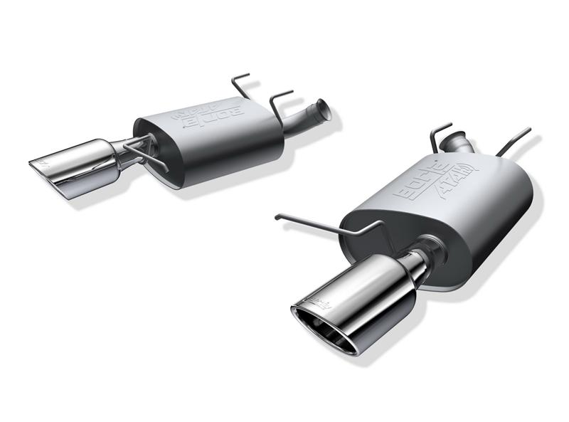Borla 11-14 Ford Mustang 3.7L 6cyl Aggressive ATAK Exhaust (rear section only)