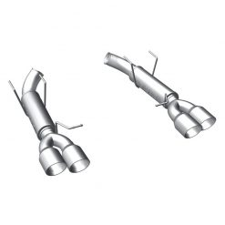 MagnaFlow 12 Ford Mustang V8 5.0L Dual Split Rear Exit Axle-Back Stainless Cat Back Perf Exhaust