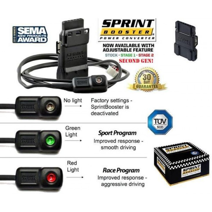 2011+Ford Mustang Sprint Booster SBFO0022S - (Automatic)