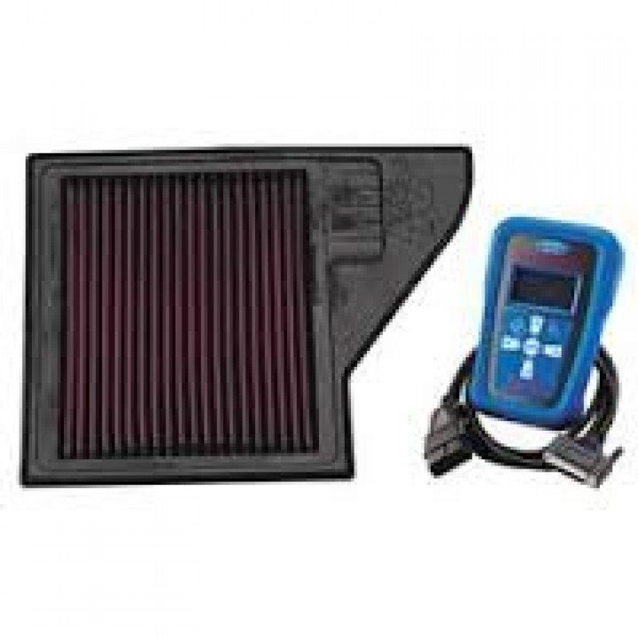 2011-2014 Ford Mustang Ford Racing M-9603-MGTB - Power Package, Air Filter Element/Calibration (Incl. K&N High-Flow Element)