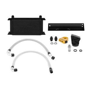 Mishimoto Black Oil Cooler Kit Genesis Coupe 3.8 V6 Thermostatic 2010 - 2012