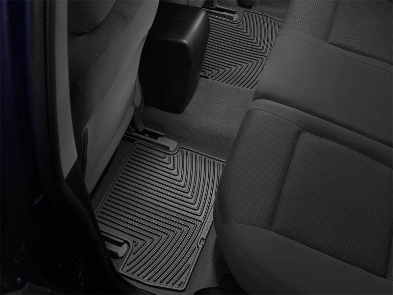 2010-2016  Genesis Coupe WeatherTech REAR Digital fit Mats (BLACK)
